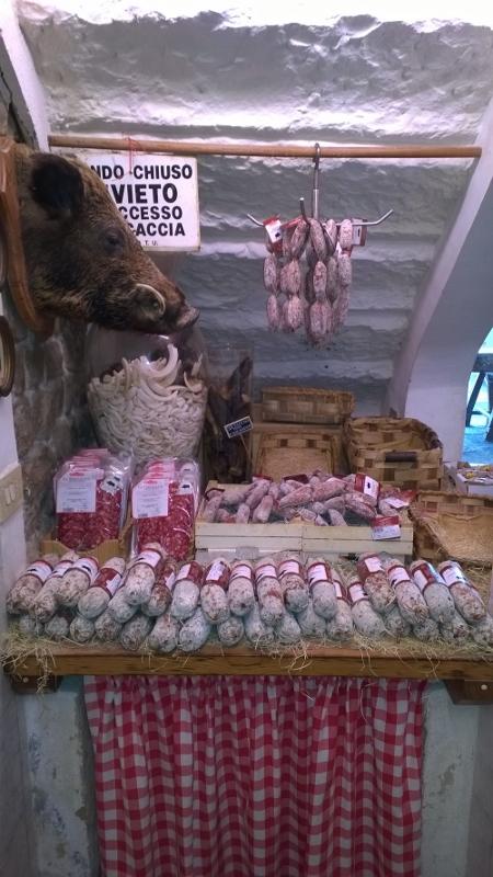 everzwijn salami Falorni Greve in Chianti