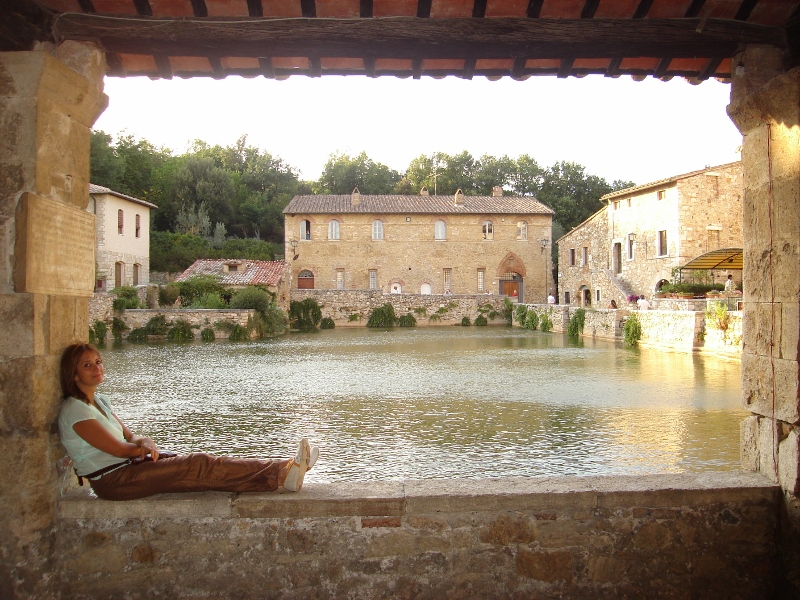 Het prachtige Bagno Vignoni