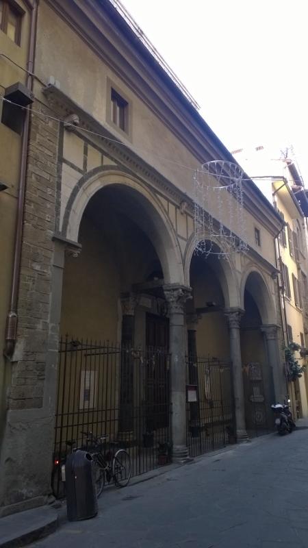 De kerk Chiesa di San Jacopo Sopr'Arno