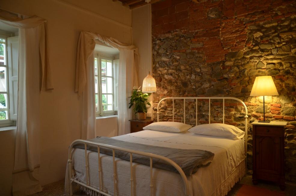 Slaapkamer van casa di Lorenzo