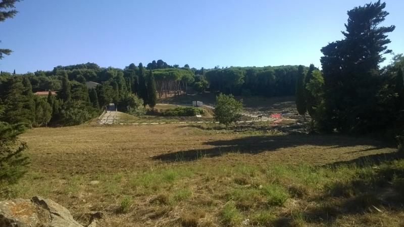 Etruskische overblijfselen in het archeologische park van Populonia e Baratti
