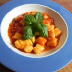 Gnocchi al pomodoro (aardappelgnocchi met tomatensaus)
