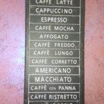Praktische info: een koffie bestellen