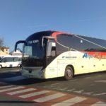 Met de bus vanuit Pisa luchthaven naar Firenze