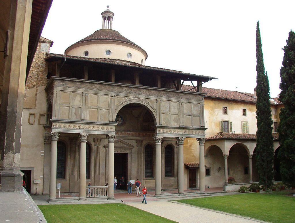 Firenze-cappella Pazzi-Brunelleschi