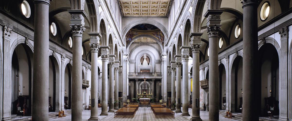 Firenze Santo Spirito kerk