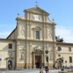 De kerk San Marco in Firenze