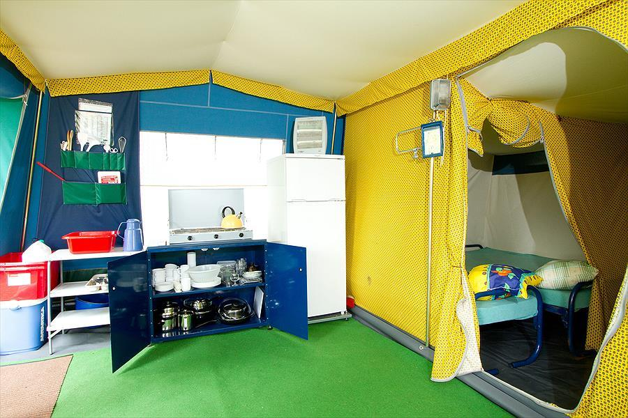 camping Barco Reale Toscane - bungalowtent