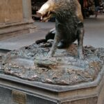 Het standbeeld il Porcellino in Florence