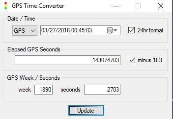 GPS Time Converter Executable