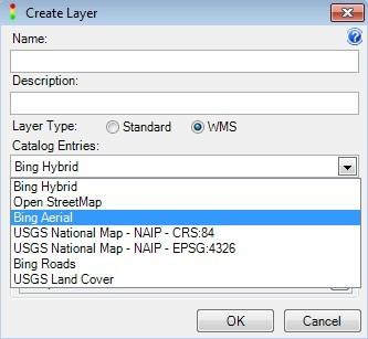Create WMS Layer