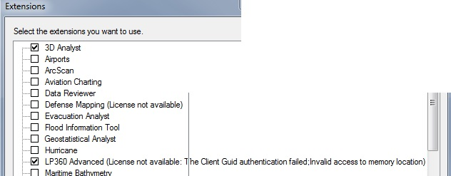 Client GUID Authentication failed: Invalid access to memory location