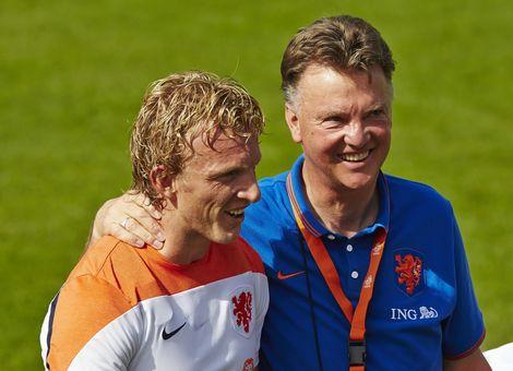 Van Gaal and Kuyt