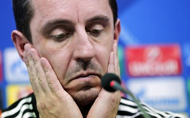 Neville Distraught