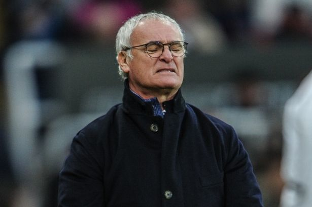 Leicester Manager Ranieri Angry