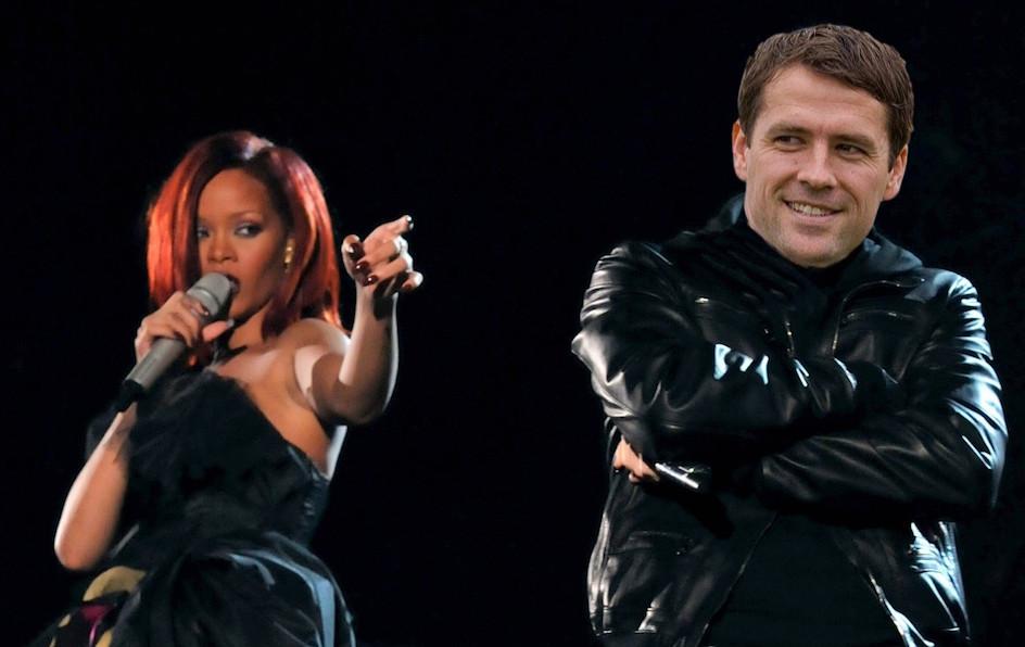 Michael Owen and Rihanna