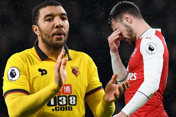 Troy Deeney Arsenal