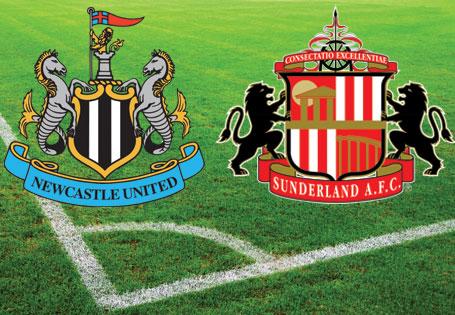 Sunderland and Newcastle