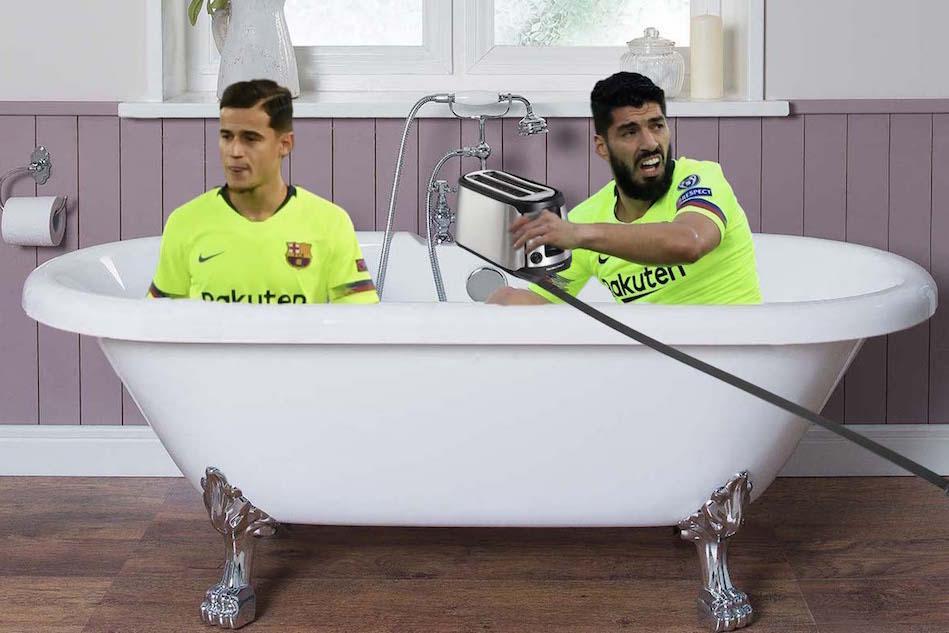 Suarez and Coutinho