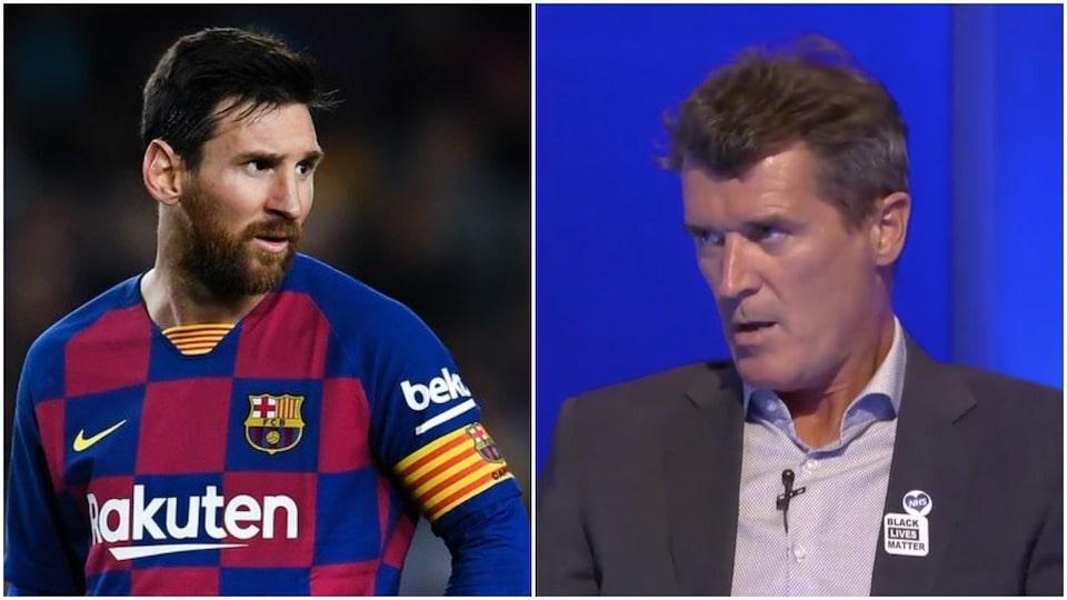 Keane and Messi