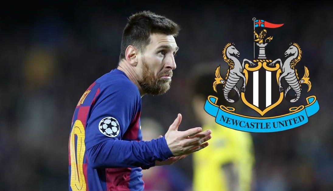 Messi Newcastle