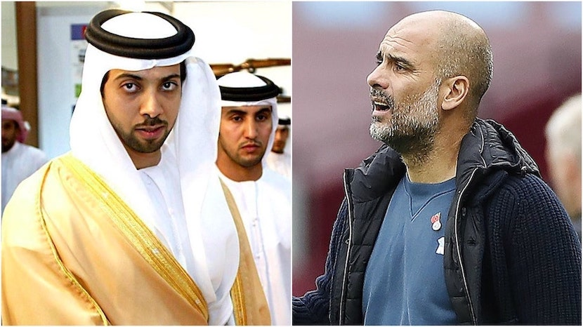 Guardiola and Mansour