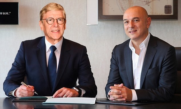 Wenger and Spurs
