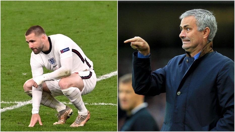 Mourinho and Shaw