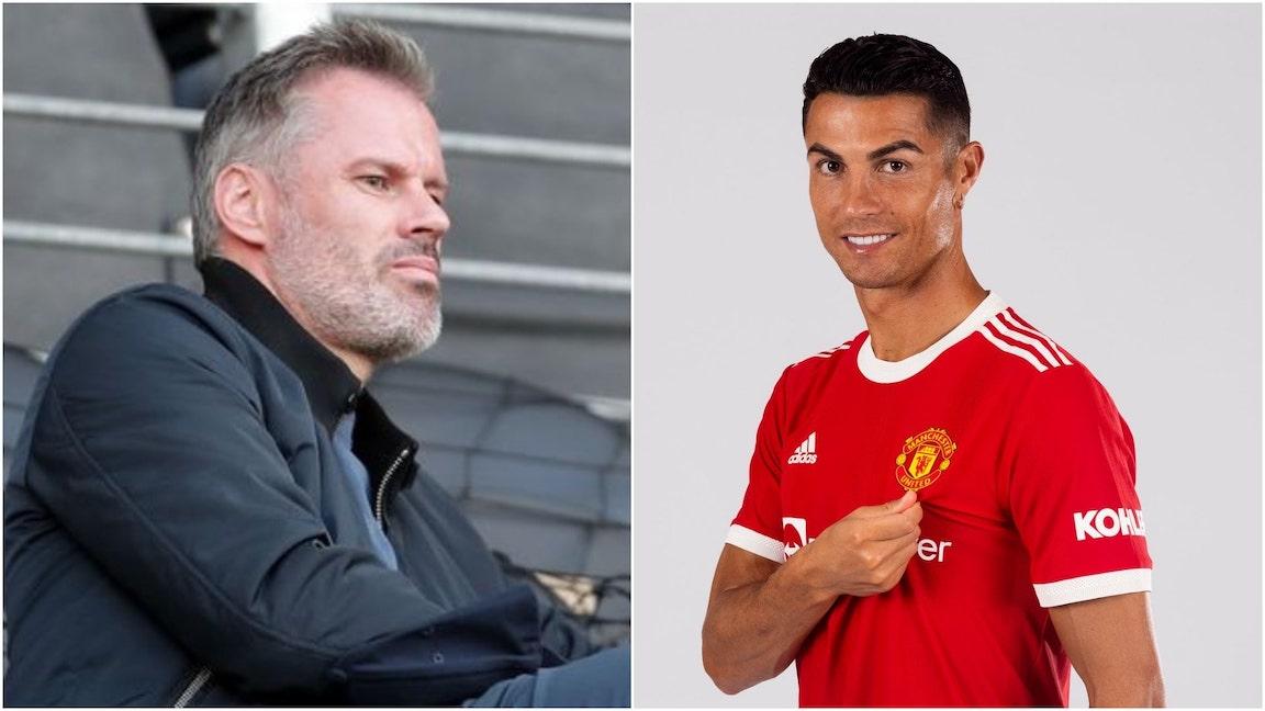 Carragher and Ronaldo