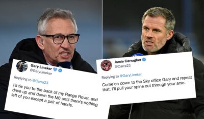 Carragher and Lineker