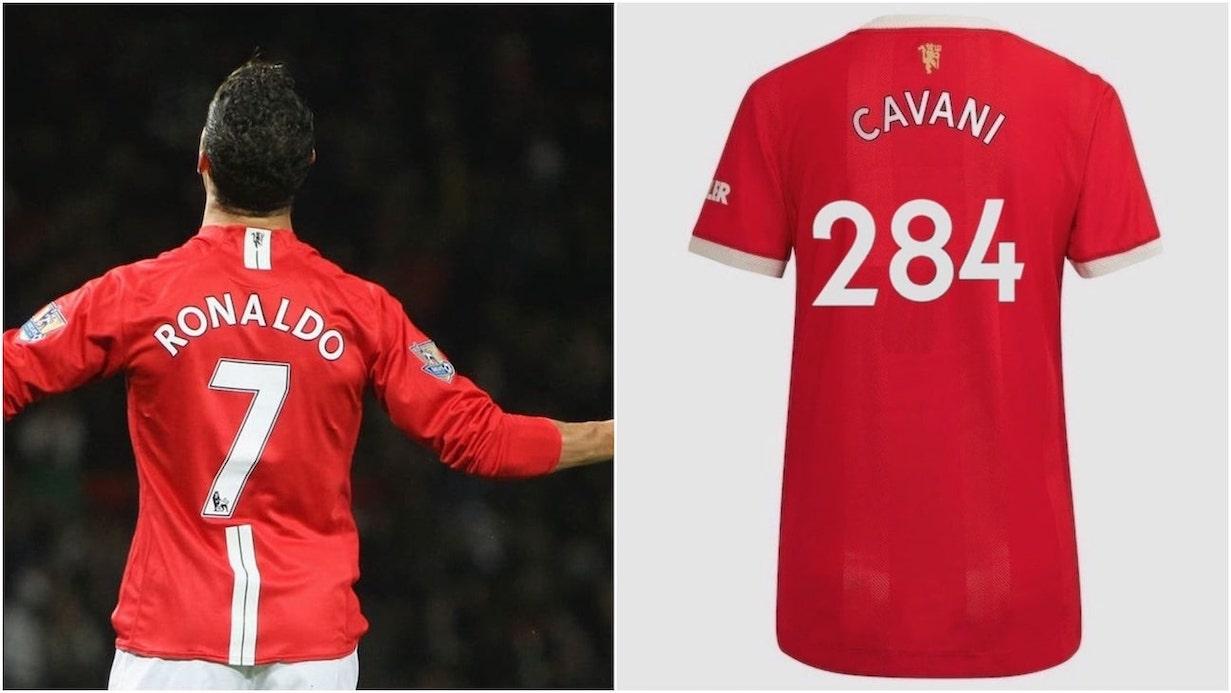 Ronaldo and Cavani