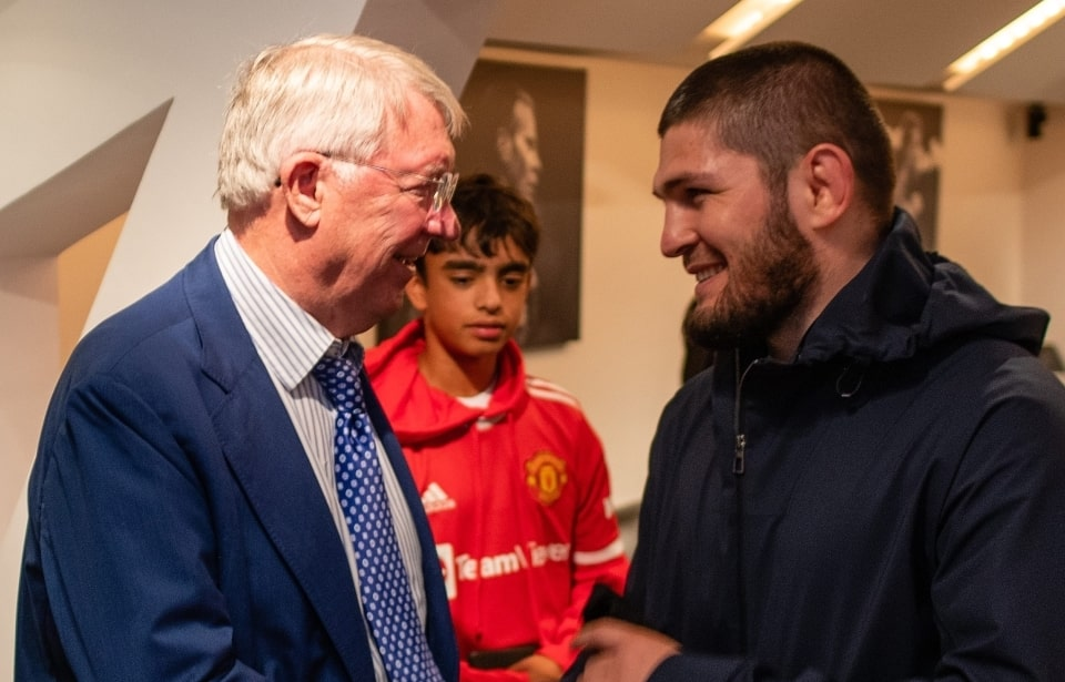 Ferguson and Khabib
