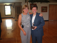 Humanitarian Award Sandy Geroux