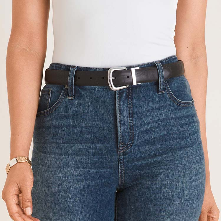 belts are great for cinching the waist