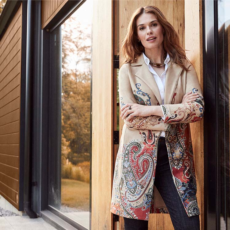 Chico's celebrates the rich, warm colors of Fall 202