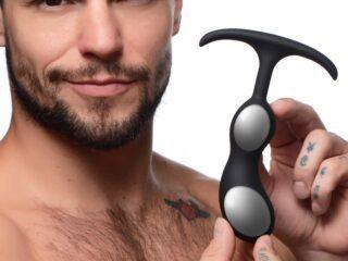 Premium Silicone Weighted Prostate Plug - Medium