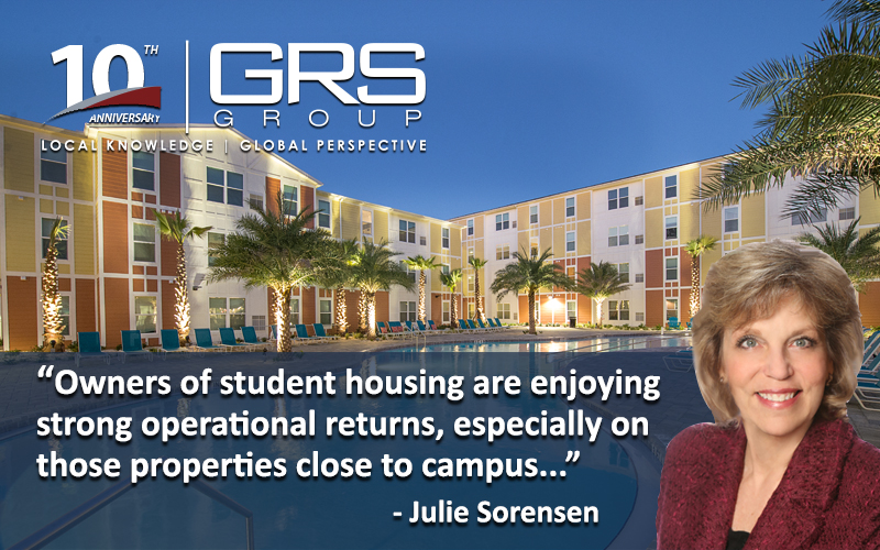 Student Housing Soars, Especially Near Campus
