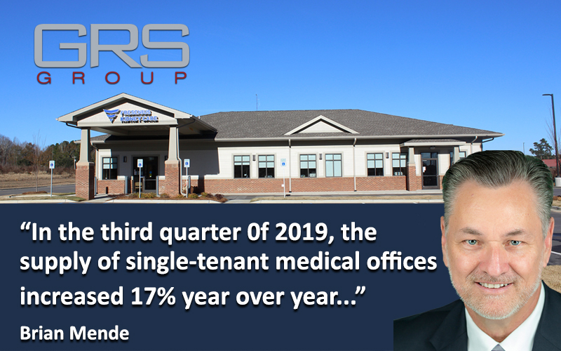 Single-Tenant Medical a Good CRE Antidote to E-Commerce