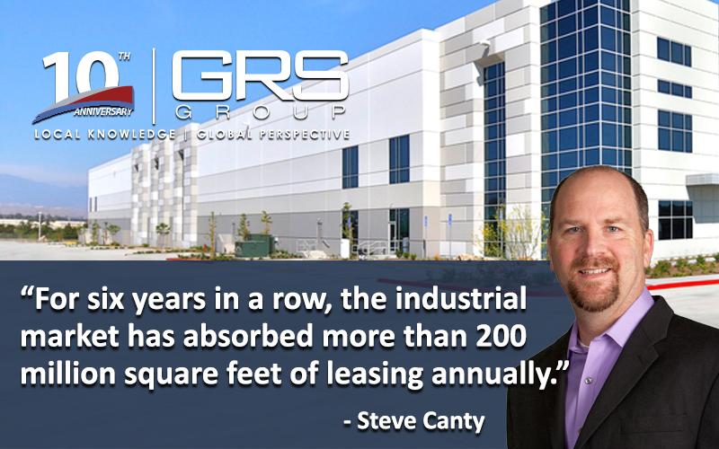 Industrial Real Estate Dominates Decade