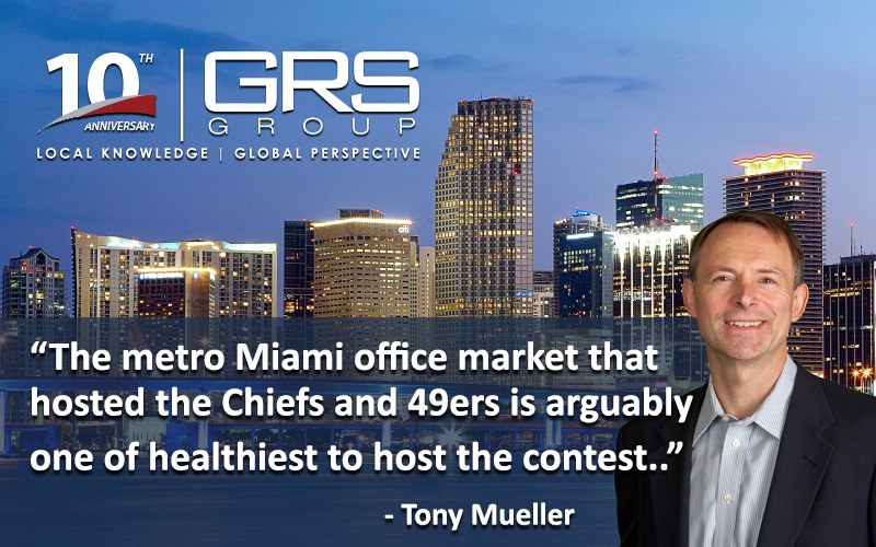 Super Bowl LIV and Miami's Hot Office Market