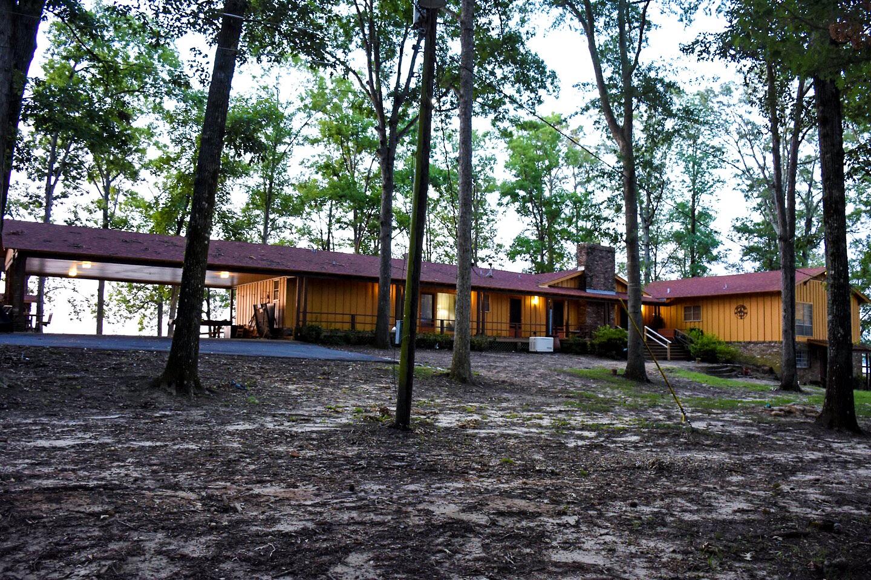 Farmerville Vacation Rentals - Lodge Entrance