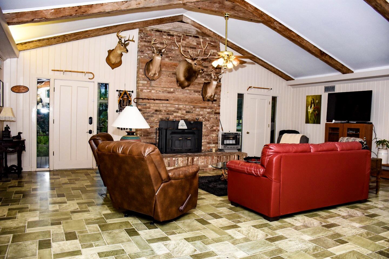 Living & Trophy Room
