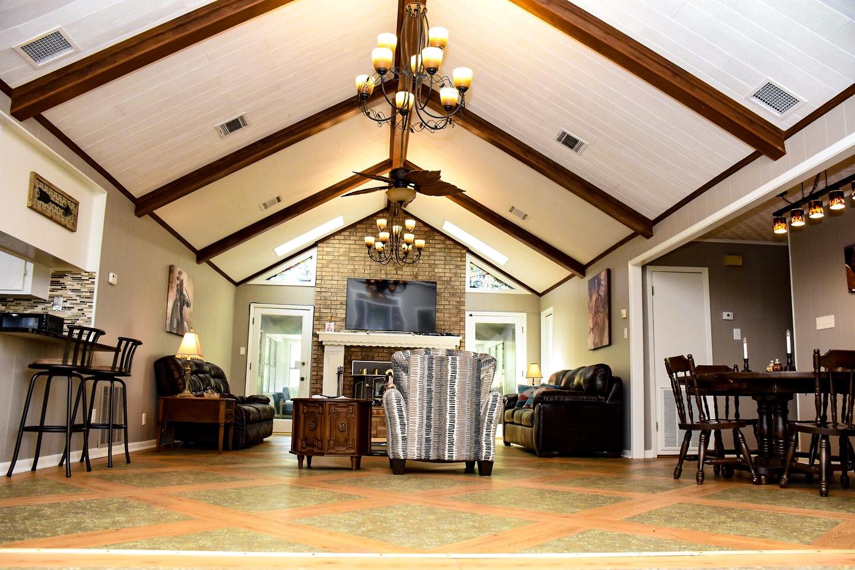 Living Room | Farmerville Vacation Rentals