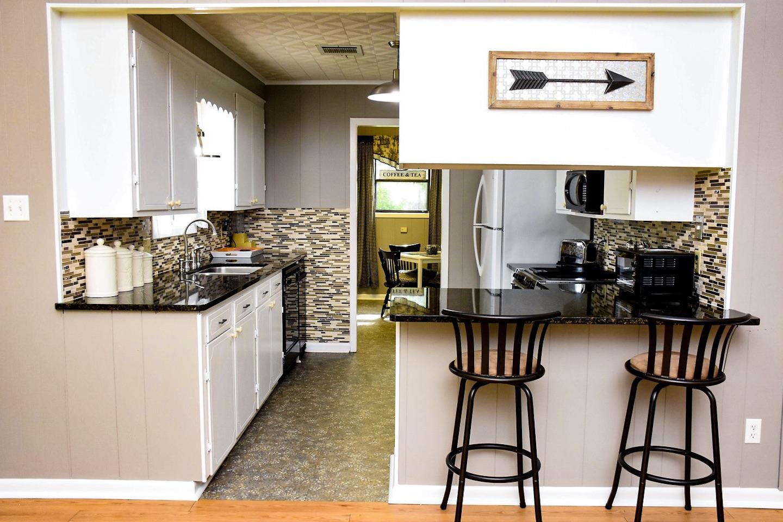 Kitchen | Farmerville Vacation Rentals