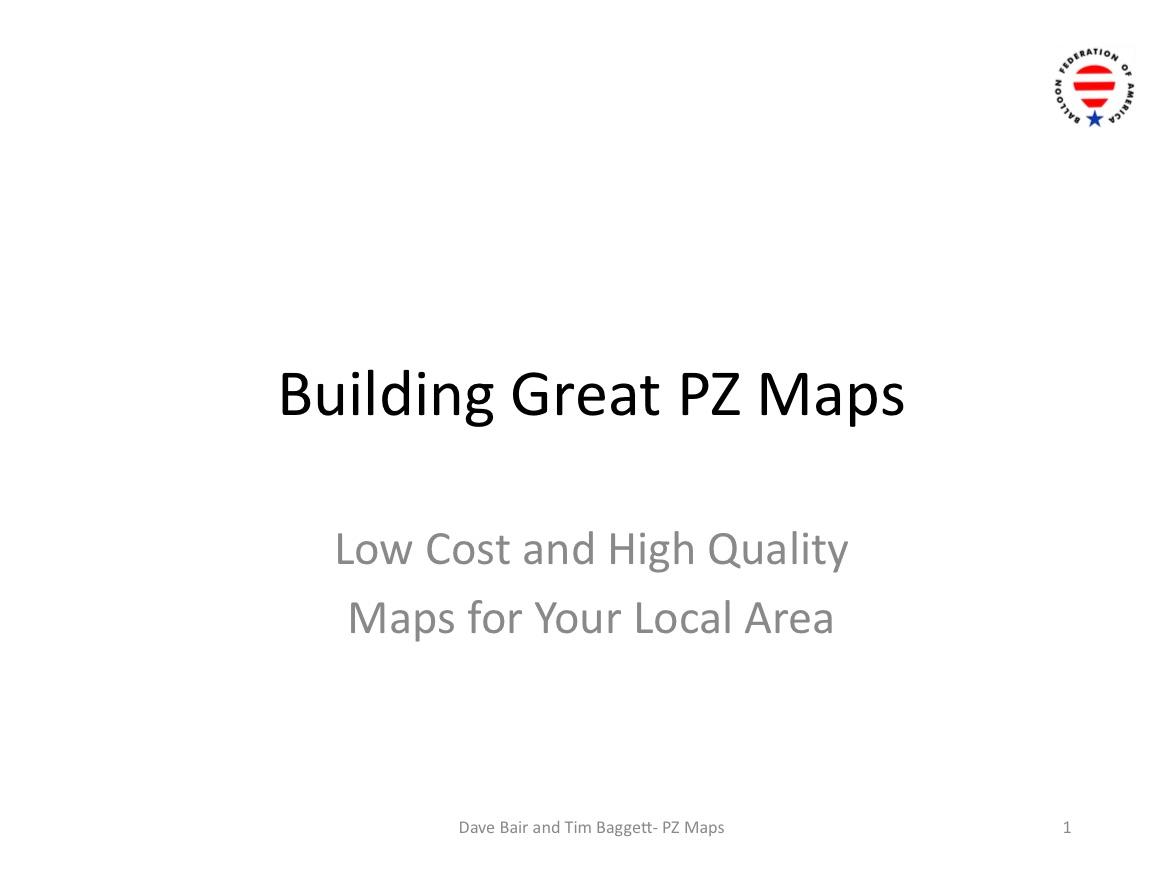 PZ Maps Slides
