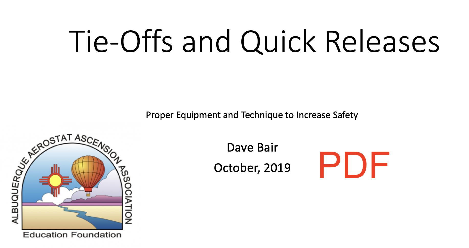 PDF of Slides