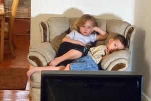 Kids watch too much TV