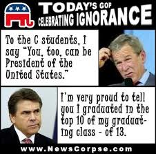 Ignorance is encouraged in America