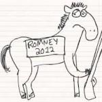 Mitt is accusing the President of being weak in military.