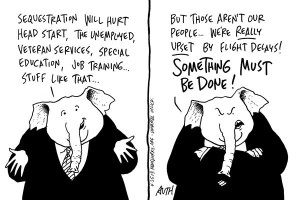 sequester and gop